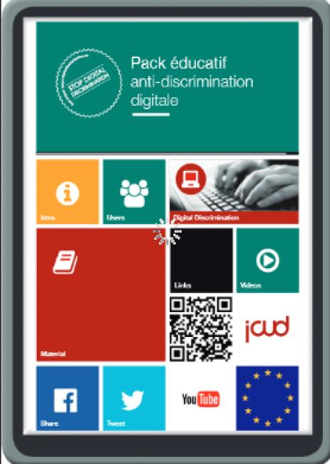 image couverture pack éducatif anti-discrimination digitale