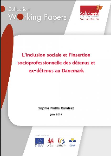image couverture L'inclusion sociale et l'insertion socioprofessionnelle des détenus et ex - détenus au Danemark