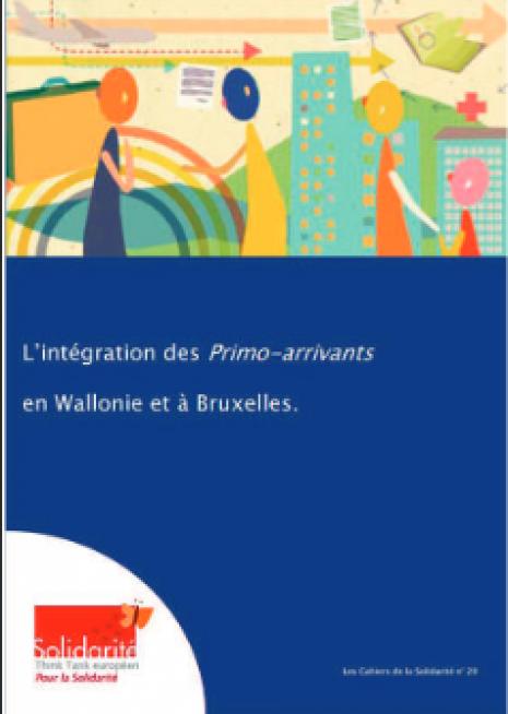 image couverture L'intégration des Primo-arrivants en Wallonie et à Bruxelles