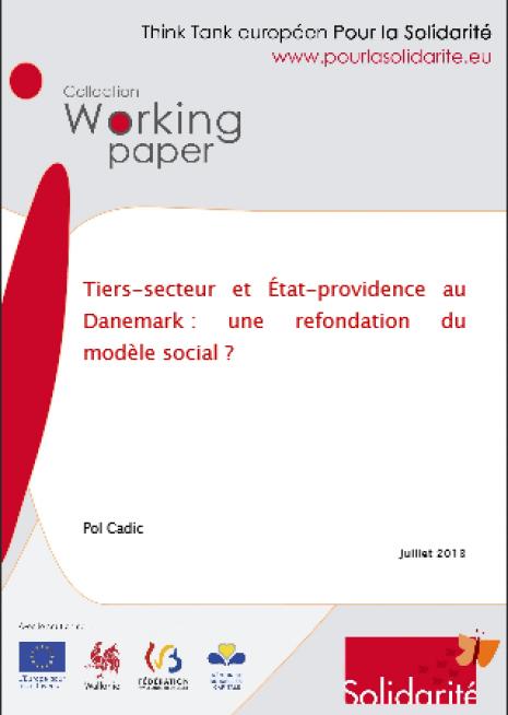 image couverture Tiers - secteur et État - providence au Danemark : une refondation du modèle social