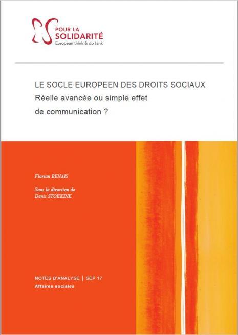 Socle Européen, droits sociaux, ESS, Travail