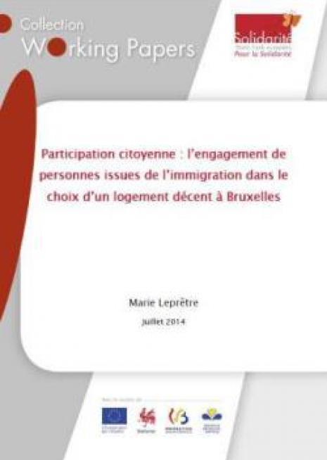 L'engagement de personnes issues de l'immigration dans le choix d'un logement décent à Bruxelles